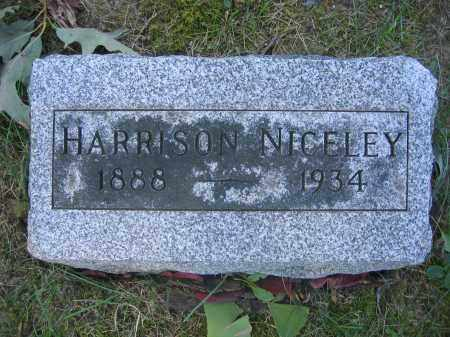 NICELEY, HARRISON - Union County, Ohio | HARRISON NICELEY - Ohio Gravestone Photos