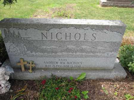 NICHOLS, ANDREW WILLIAM - Union County, Ohio | ANDREW WILLIAM NICHOLS - Ohio Gravestone Photos