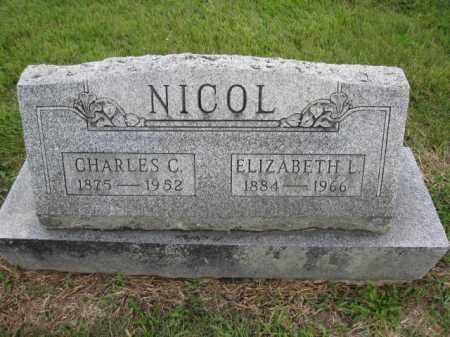 NICOL, CHARLES C. - Union County, Ohio | CHARLES C. NICOL - Ohio Gravestone Photos