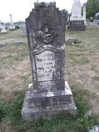 NONEMAKER, JOHN - Union County, Ohio   JOHN NONEMAKER - Ohio Gravestone Photos