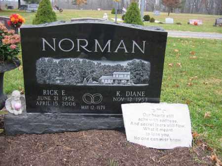 NORMAN, RICK EUGENE - Union County, Ohio   RICK EUGENE NORMAN - Ohio Gravestone Photos