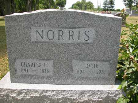 NORRIS, LOUIE - Union County, Ohio | LOUIE NORRIS - Ohio Gravestone Photos