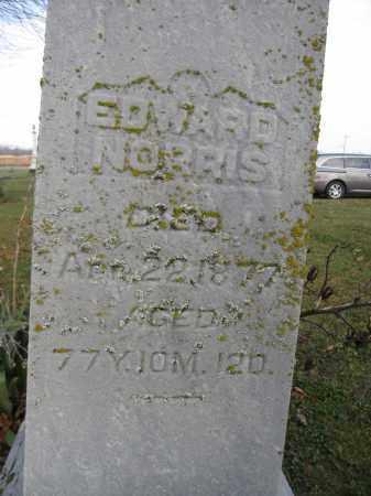 NORRIS, EDWARD - Union County, Ohio   EDWARD NORRIS - Ohio Gravestone Photos