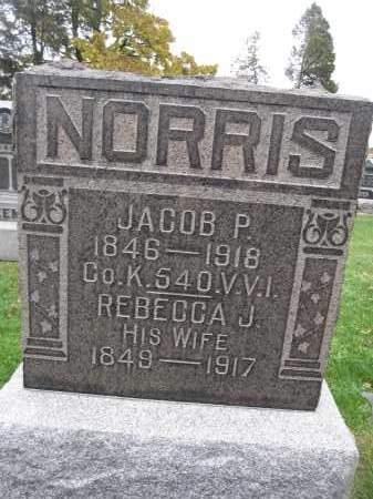 NORRIS, REBECCA J. - Union County, Ohio   REBECCA J. NORRIS - Ohio Gravestone Photos