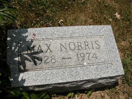 NORRIS, MAX - Union County, Ohio | MAX NORRIS - Ohio Gravestone Photos