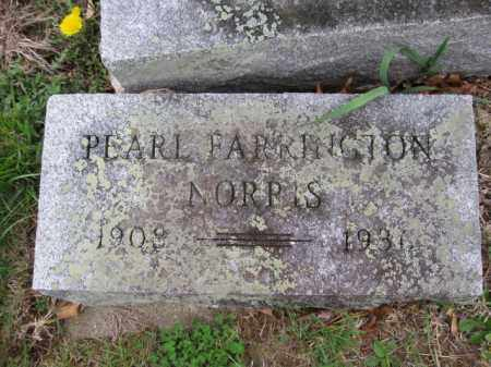 NORRIS, PEARL FARRINGTON - Union County, Ohio | PEARL FARRINGTON NORRIS - Ohio Gravestone Photos