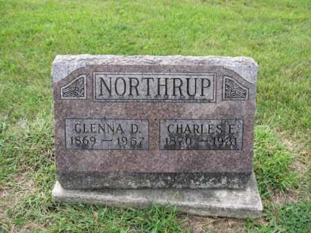 NORTHRUP, GLENNA D. - Union County, Ohio | GLENNA D. NORTHRUP - Ohio Gravestone Photos