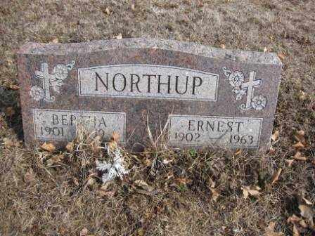 NORTHUP, ERNEST - Union County, Ohio | ERNEST NORTHUP - Ohio Gravestone Photos
