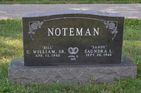 NOTEMAN, C. WILLIAM - Union County, Ohio   C. WILLIAM NOTEMAN - Ohio Gravestone Photos