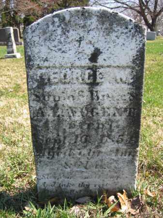 NUGENT, GEORGE W. - Union County, Ohio | GEORGE W. NUGENT - Ohio Gravestone Photos