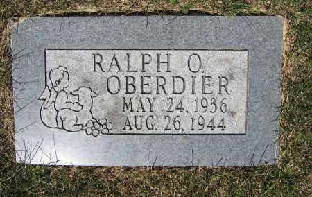 OBERDIER, RALPH O. - Union County, Ohio   RALPH O. OBERDIER - Ohio Gravestone Photos