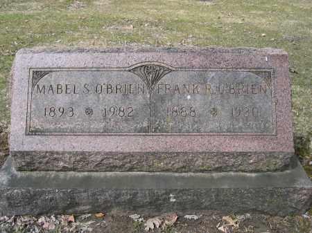 O'BRIEN, MABEL - Union County, Ohio | MABEL O'BRIEN - Ohio Gravestone Photos