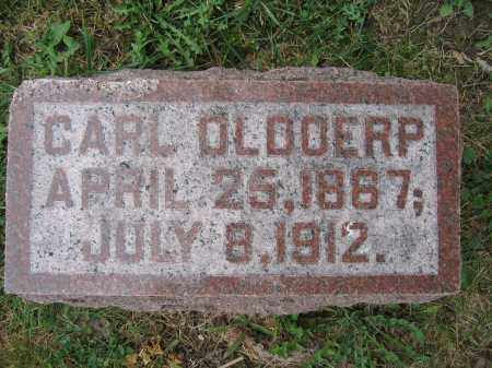 OLDOERP, CARL - Union County, Ohio | CARL OLDOERP - Ohio Gravestone Photos