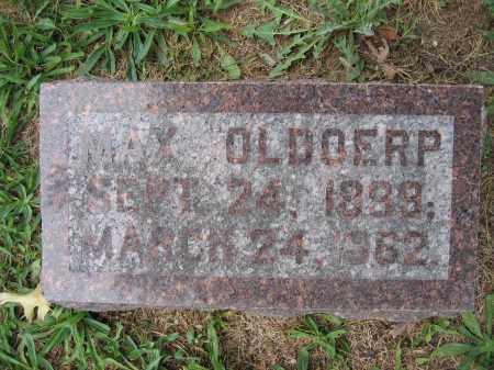 OLDOERP, MAX - Union County, Ohio | MAX OLDOERP - Ohio Gravestone Photos