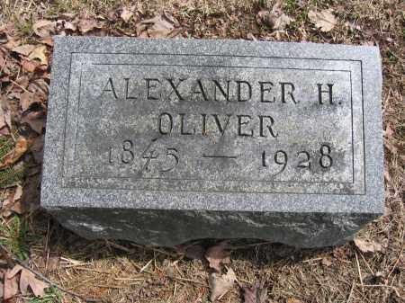 OLIVER, ALEXANDER H. - Union County, Ohio | ALEXANDER H. OLIVER - Ohio Gravestone Photos
