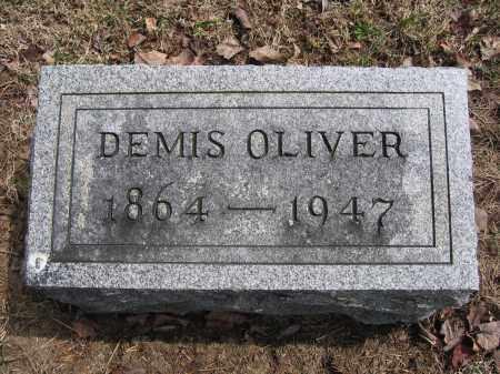OLIVER, DEMIS - Union County, Ohio | DEMIS OLIVER - Ohio Gravestone Photos