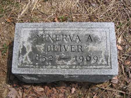 OLIVER, MINERVA A. - Union County, Ohio | MINERVA A. OLIVER - Ohio Gravestone Photos