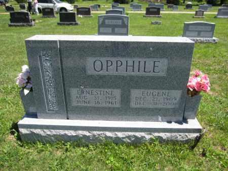 OPPHILE, ERNESTINE - Union County, Ohio | ERNESTINE OPPHILE - Ohio Gravestone Photos