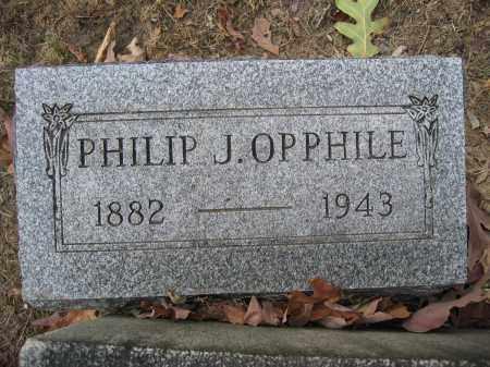 OPPHILE, PHILIP J. - Union County, Ohio | PHILIP J. OPPHILE - Ohio Gravestone Photos