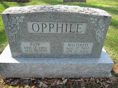 OPPHILE, MILDRED - Union County, Ohio | MILDRED OPPHILE - Ohio Gravestone Photos