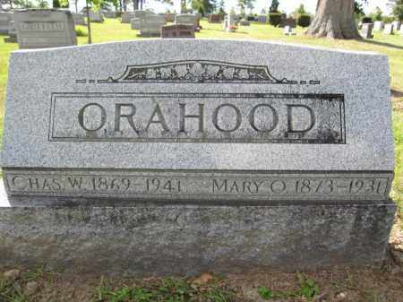 ORAHOOD, MARY O. - Union County, Ohio | MARY O. ORAHOOD - Ohio Gravestone Photos