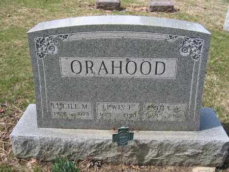 ORAHOOD, INDIA A. - Union County, Ohio | INDIA A. ORAHOOD - Ohio Gravestone Photos