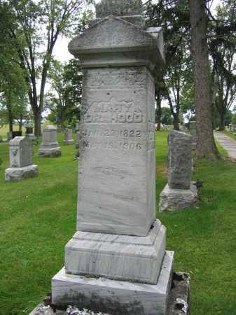 ORAHOOD, MARY - Union County, Ohio   MARY ORAHOOD - Ohio Gravestone Photos