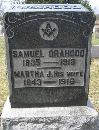 ORAHOOD, SAMUEL - Union County, Ohio | SAMUEL ORAHOOD - Ohio Gravestone Photos