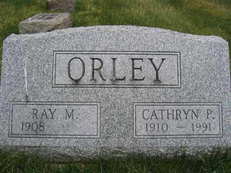 ORLEY, RAY M - Union County, Ohio | RAY M ORLEY - Ohio Gravestone Photos