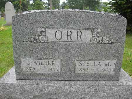 ORR, J. WILBUR - Union County, Ohio | J. WILBUR ORR - Ohio Gravestone Photos