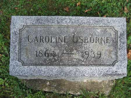 OSBORNE, CAROLINE - Union County, Ohio   CAROLINE OSBORNE - Ohio Gravestone Photos
