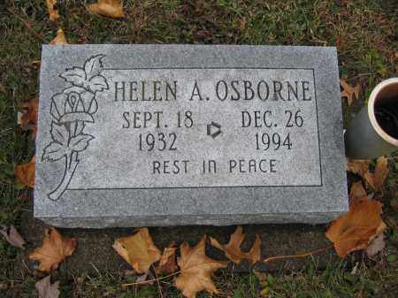 OSBORNE, HELEN A. - Union County, Ohio | HELEN A. OSBORNE - Ohio Gravestone Photos