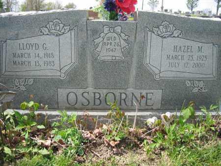 OSBORNE, LLOYD G. - Union County, Ohio | LLOYD G. OSBORNE - Ohio Gravestone Photos