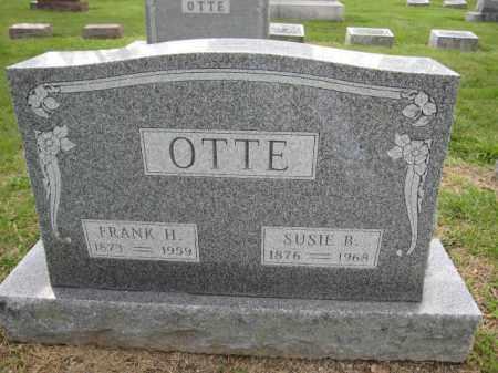 OTTE, FRANK H. - Union County, Ohio | FRANK H. OTTE - Ohio Gravestone Photos
