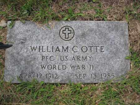 OTTE, WILLIAM C. - Union County, Ohio   WILLIAM C. OTTE - Ohio Gravestone Photos