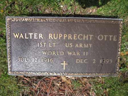 OTTE, WALTER RUPPRECHT - Union County, Ohio   WALTER RUPPRECHT OTTE - Ohio Gravestone Photos