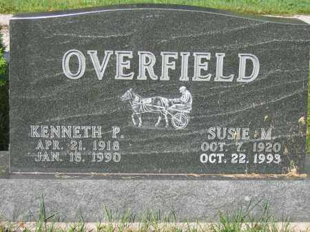 OVERFIELD, KENNETH P. - Union County, Ohio   KENNETH P. OVERFIELD - Ohio Gravestone Photos