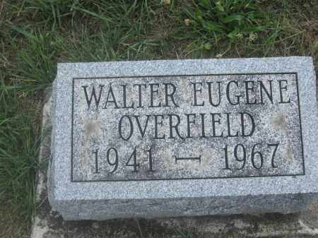 OVERFIELD, WALTER EUGENE - Union County, Ohio   WALTER EUGENE OVERFIELD - Ohio Gravestone Photos