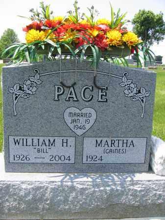 PACE, WILLIAM HERBERT - Union County, Ohio   WILLIAM HERBERT PACE - Ohio Gravestone Photos