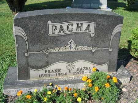 PACHA, HAZEL - Union County, Ohio   HAZEL PACHA - Ohio Gravestone Photos