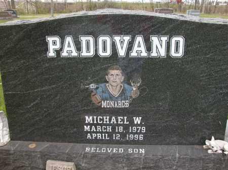 PADOVANO, MICHAEL W. - Union County, Ohio   MICHAEL W. PADOVANO - Ohio Gravestone Photos