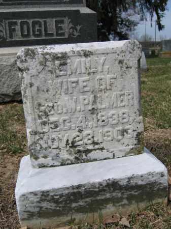 PALMER, EMILY - Union County, Ohio | EMILY PALMER - Ohio Gravestone Photos