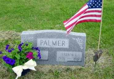PALMER, VERNON - Union County, Ohio | VERNON PALMER - Ohio Gravestone Photos