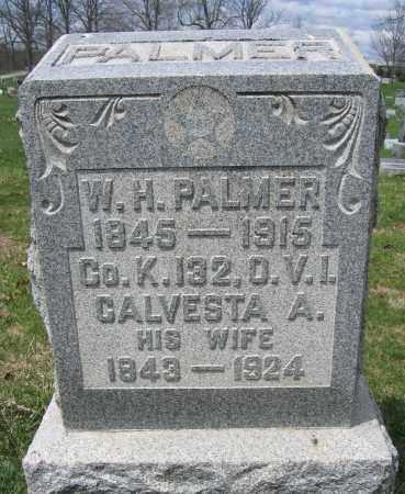 PALMER, W.H. - Union County, Ohio | W.H. PALMER - Ohio Gravestone Photos