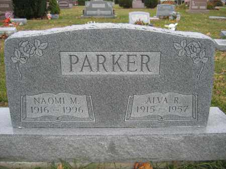 PARKER, ALVA R. - Union County, Ohio | ALVA R. PARKER - Ohio Gravestone Photos