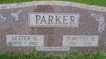 PARKER, LESTER A. - Union County, Ohio | LESTER A. PARKER - Ohio Gravestone Photos