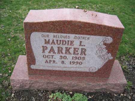 PARKER, MAUDIE L. - Union County, Ohio | MAUDIE L. PARKER - Ohio Gravestone Photos