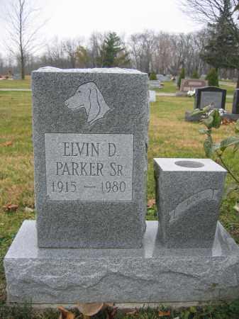 PARKER, SR., ELVIN D. - Union County, Ohio   ELVIN D. PARKER, SR. - Ohio Gravestone Photos
