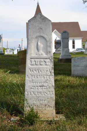 PARMETER, LUCY - Union County, Ohio | LUCY PARMETER - Ohio Gravestone Photos