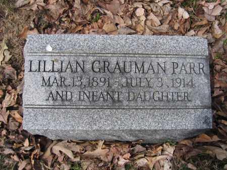 PARR, INFANT DAUGHTER - Union County, Ohio | INFANT DAUGHTER PARR - Ohio Gravestone Photos